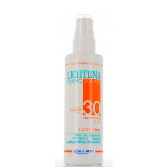 Lichtena Dermosolari Latte Spray Bimbicorpo Spf30
