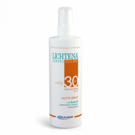 Lichtena Dermosolari Latte Spray Corpo Spf30